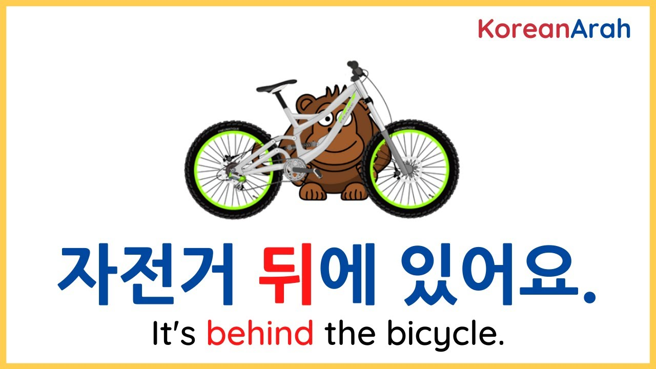 Korean Prepositions Of Place